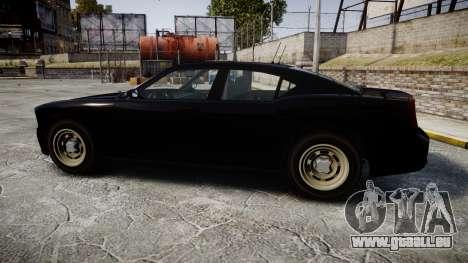 GTA V Bravado FIB Buffalo [ELS] für GTA 4 linke Ansicht