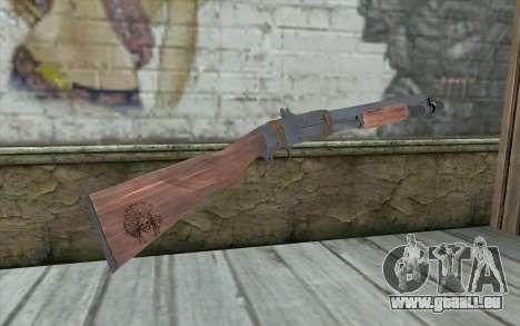 Shotgun from Primal Carnage v2 pour GTA San Andreas deuxième écran