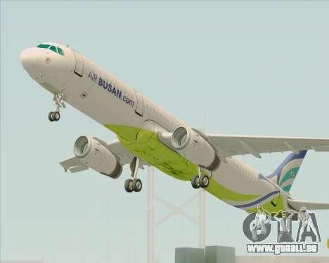 Airbus A321-200 Air Busan pour GTA San Andreas