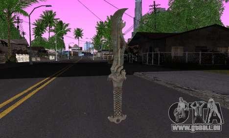 La même lame (FarCry 3) pour GTA San Andreas