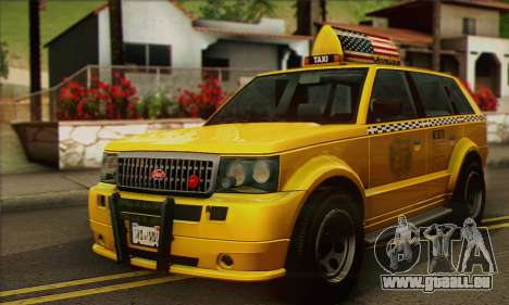VAPID Huntley Taxi (Saints Row 4 Style) für GTA San Andreas