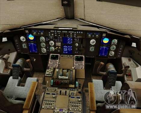 Boeing 757-230 VIM Airlines (VIM) für GTA San Andreas Innen