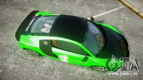 Audi R8 GT Coupe 2011 Yoshino pour GTA 4 est un droit