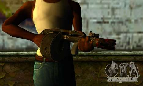 Shotgun from Gotham City Impostors v2 für GTA San Andreas dritten Screenshot