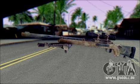 M24Jar fusil de Sniper de SGW2 pour GTA San Andreas