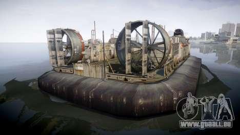 LCAC US Navy für GTA 4 hinten links Ansicht