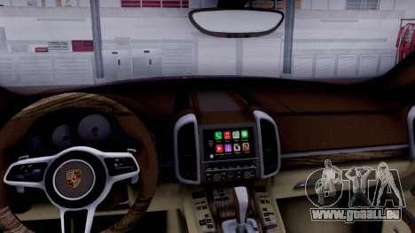 Porsche Cayenne 2015 pour GTA San Andreas vue de droite