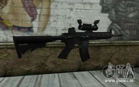 HK416 (Bump mapping) v2 für GTA San Andreas zweiten Screenshot