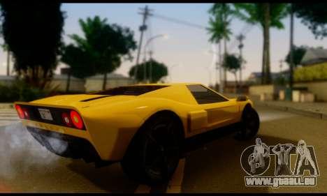 GTA 5 Bullet für GTA San Andreas linke Ansicht