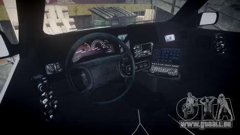 Dodge Durango 2000 Undercover [ELS] für GTA 4 Rückansicht