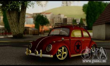 Volkswagen Fusca 1976 Rust Camber pour GTA San Andreas