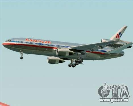 McDonnell Douglas DC-10-30 American Airlines pour GTA San Andreas vue de côté