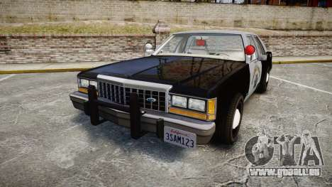 Ford LTD Crown Victoria 1987 Police CHP2 [ELS] pour GTA 4