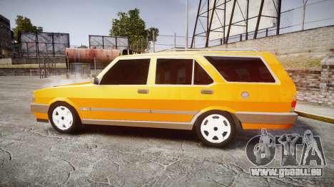 Tofas Kartal SLX Taxi pour GTA 4 est une gauche