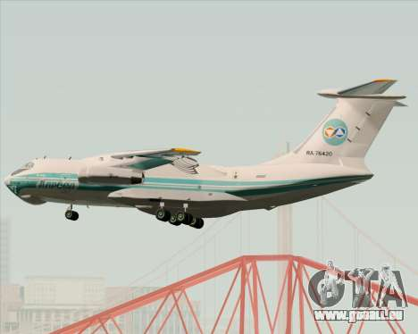 IL-76TD ALROSA für GTA San Andreas Seitenansicht