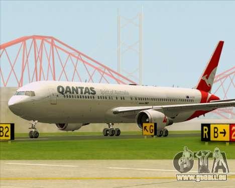 Boeing 767-300ER Qantas (New Colors) pour GTA San Andreas vue de dessous