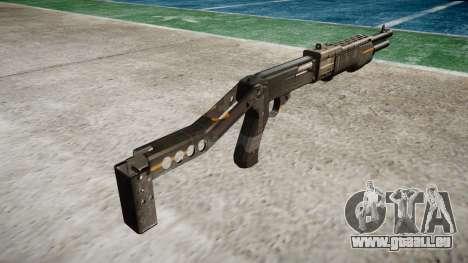 Ружье Franchi SPAS-12 CE-Digital für GTA 4 Sekunden Bildschirm