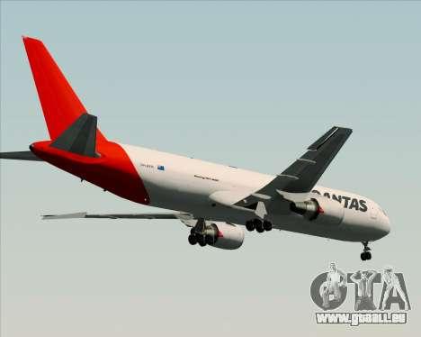 Boeing 767-300F Qantas Freight pour GTA San Andreas vue arrière