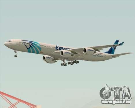 Airbus A340-600 EgyptAir pour GTA San Andreas roue