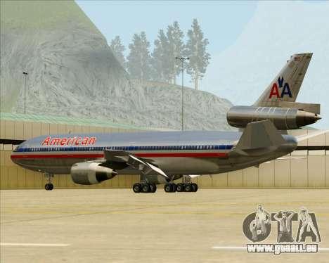 McDonnell Douglas DC-10-30 American Airlines für GTA San Andreas Räder