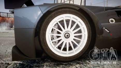 Lola B12-80 pour GTA 4 Vue arrière
