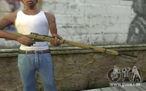 Die Gewehre Mosin-v3 für GTA San Andreas dritten Screenshot
