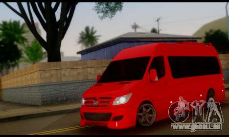 Mercedes-Benz Sprinter VIP pour GTA San Andreas