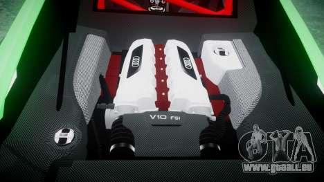 Audi R8 GT Coupe 2011 Yoshino pour GTA 4 est un côté