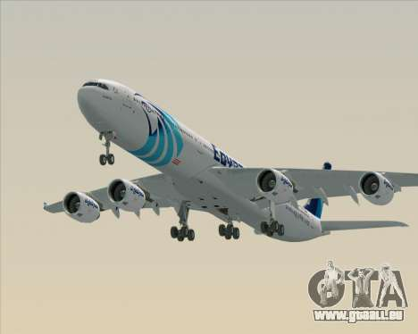 Airbus A340-600 EgyptAir pour GTA San Andreas moteur