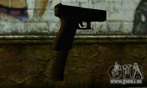 Glock 18 from Medal of Honor: Warfighter für GTA San Andreas zweiten Screenshot
