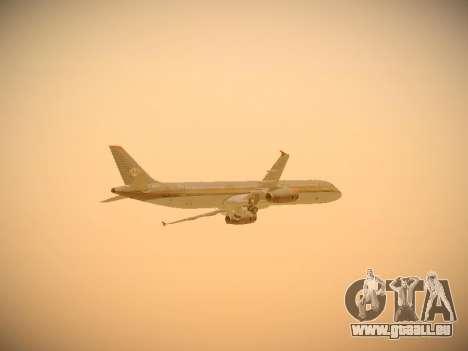 Airbus A321-232 Royal Jordanian Airlines für GTA San Andreas Unteransicht