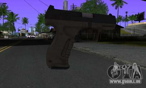 Walther P99 Bump Mapping v2 für GTA San Andreas zweiten Screenshot