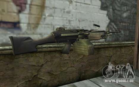 FN M249E2 SAW from SoF: Payback für GTA San Andreas zweiten Screenshot