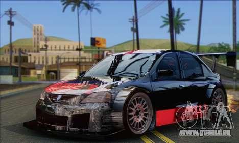 Dacia Logan Trophy Edition 2005 pour GTA San Andreas vue arrière