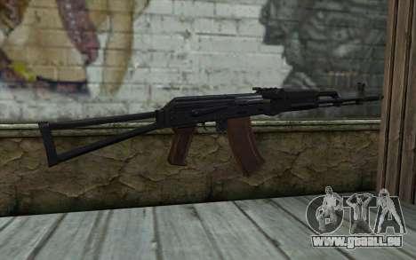L'AKS-74 pour GTA San Andreas deuxième écran