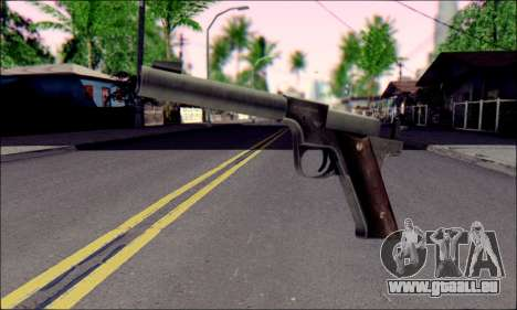 Silenced Pistol from Death to Spies 3 für GTA San Andreas