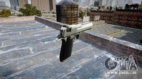 Пистолет IMI Desert Eagle Mk XIX Chrome pour GTA 4 secondes d'écran