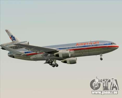 McDonnell Douglas DC-10-30 American Airlines pour GTA San Andreas moteur