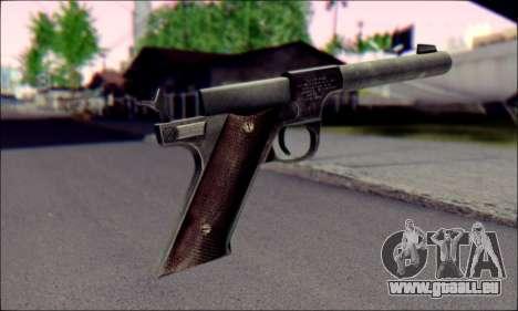 Silenced Pistol from Death to Spies 3 pour GTA San Andreas deuxième écran