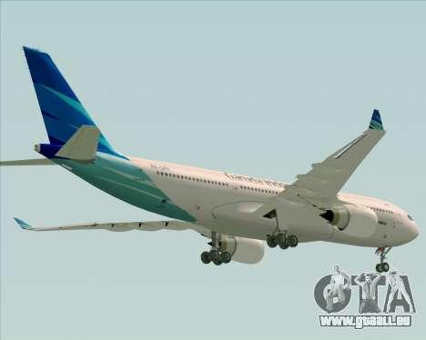 Airbus A330-243 Garuda Indonesia für GTA San Andreas Motor