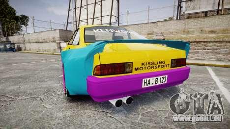 Opel Manta B GTE für GTA 4 hinten links Ansicht