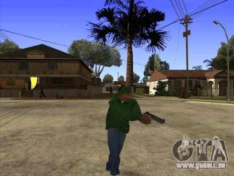 Cleo Walk Style pour GTA San Andreas troisième écran