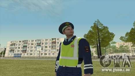 Sub-inspector DPS für GTA San Andreas