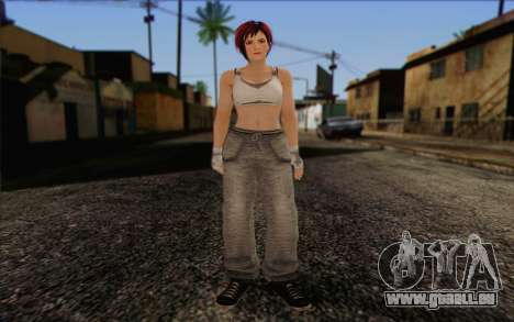Mila 2Wave from Dead or Alive v11 pour GTA San Andreas