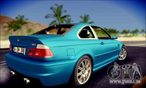 BMW M3 E46 für GTA San Andreas linke Ansicht