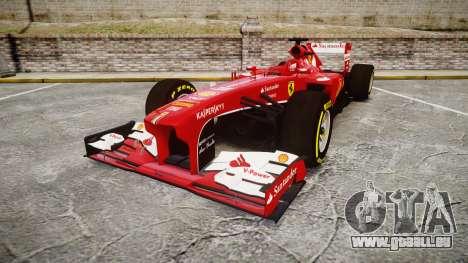 Ferrari F138 v2.0 [RIV] Alonso TSD pour GTA 4