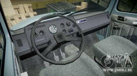 GAZ-2308 Chef pour GTA 4 Vue arrière