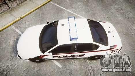 Chevrolet Impala 2003 Liberty City Police [ELS] pour GTA 4 est un droit