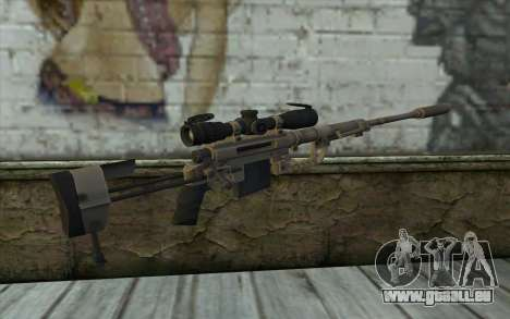 Sniper Rifle Cheytac M200 Intervention für GTA San Andreas zweiten Screenshot