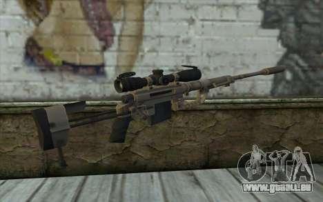Fusil De Sniper Cheytac M200 Intervention pour GTA San Andreas deuxième écran